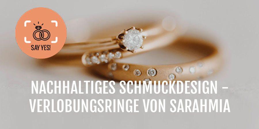 Nachhaltiges Schmuckdesign Verlobungsringe Von Sarahmia