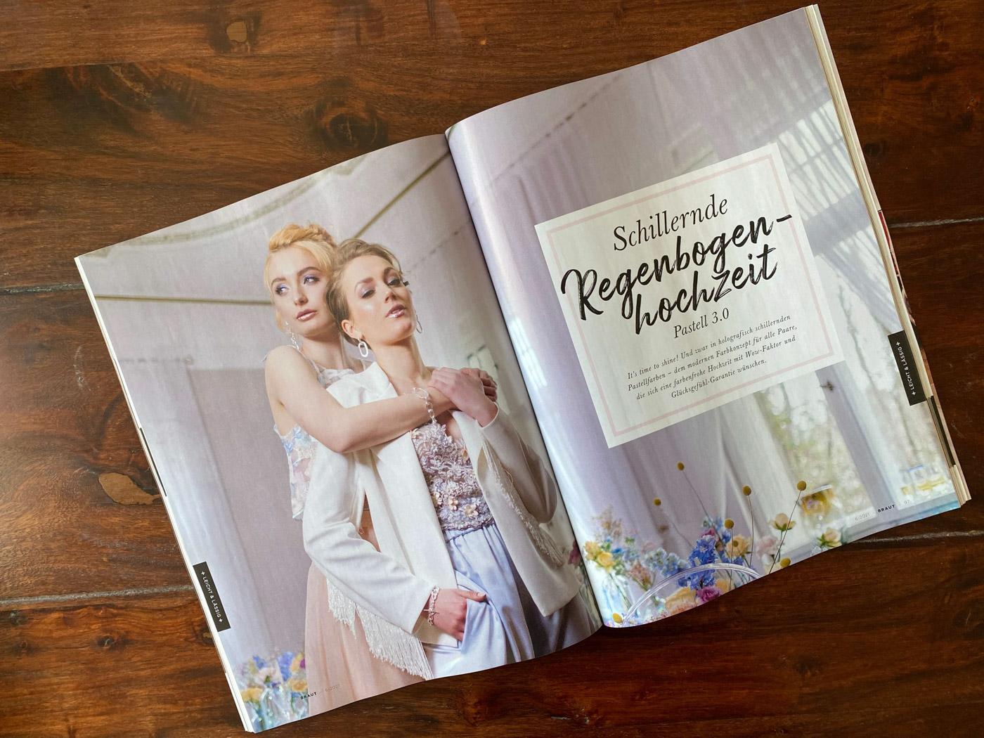 brautmagazin titelbild